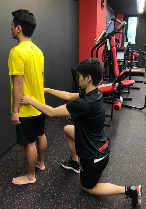 マンツーマントレーニングジム 姿勢改善・歪み改善