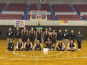 社会人バスケットボール 全国大会帯同